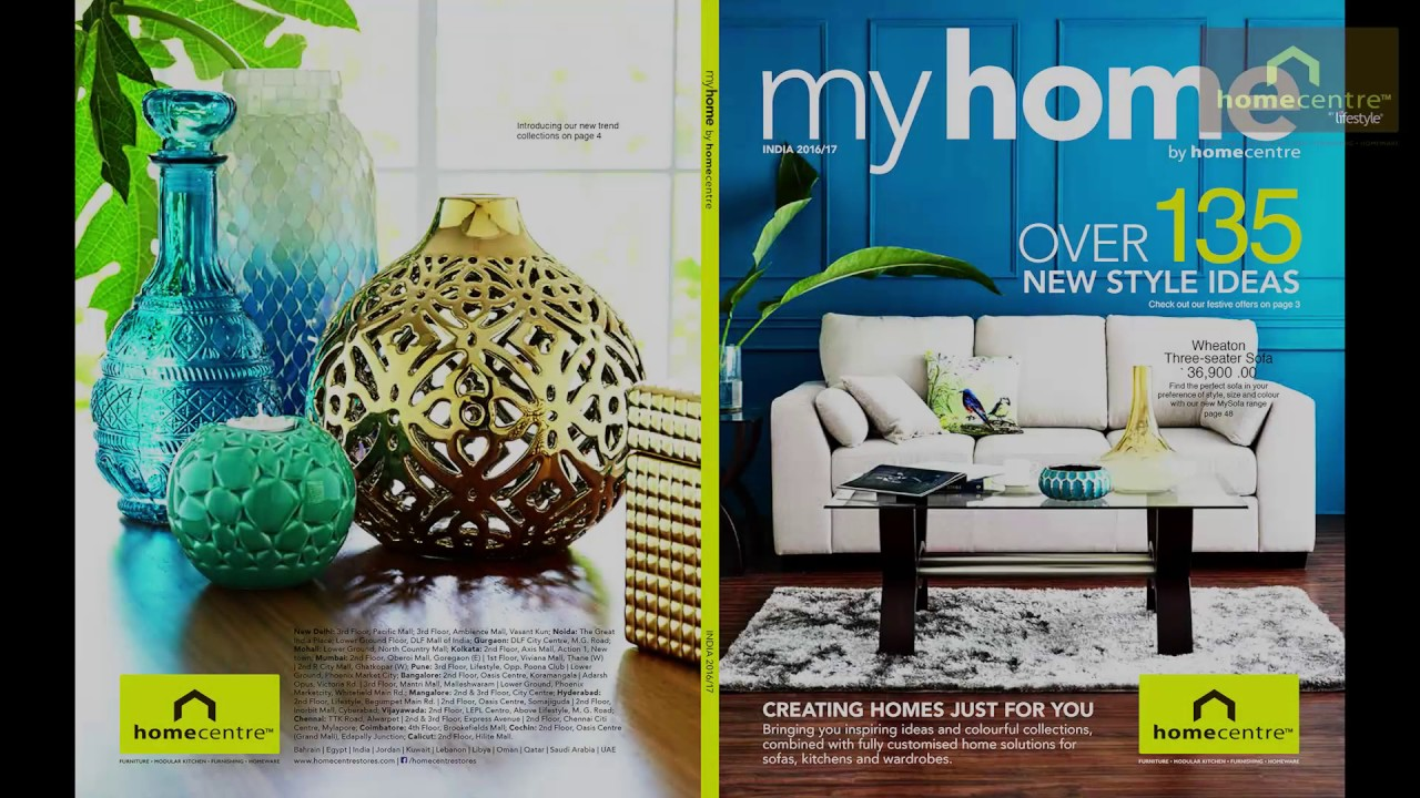 Home Centre My Home Catalogue Behind The Scenes Youtube