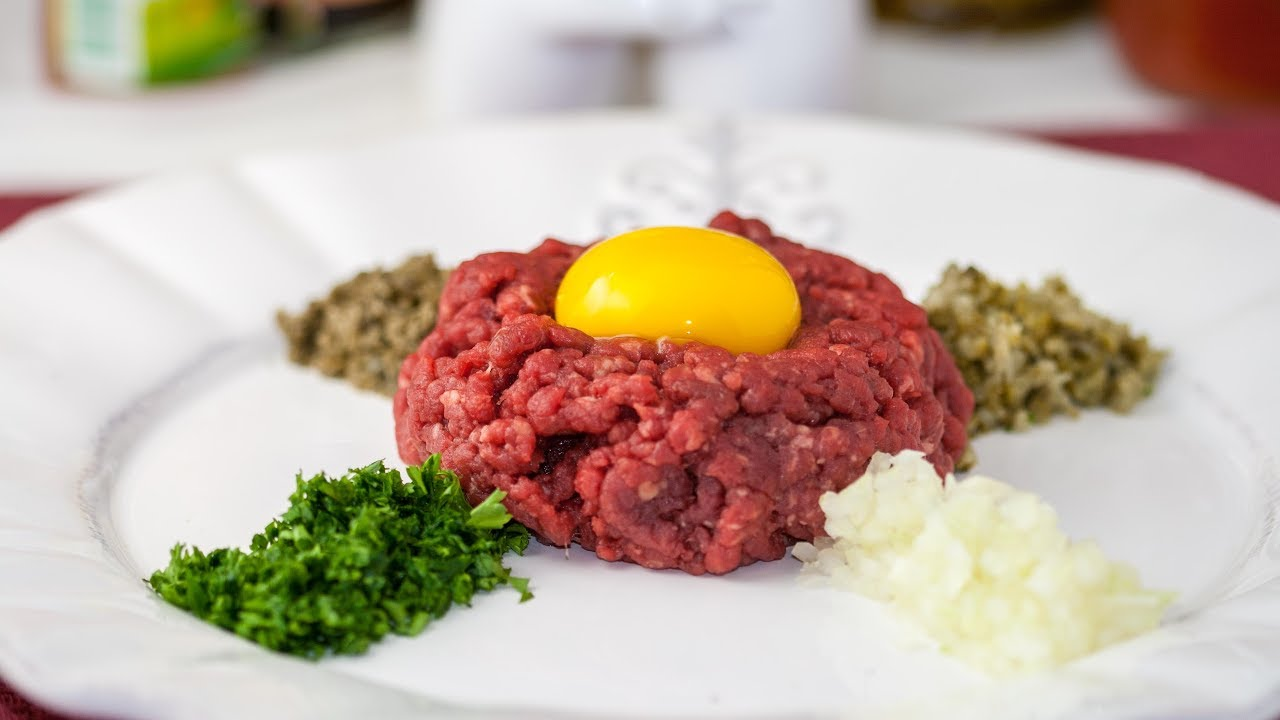 Tender Steak Tartare Recipe | I'd Rather Be A Chef |Steak Tartare Recipe
