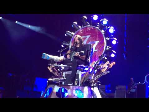 """Foo Fighters Toronto Molson Canadian Amphitheatre July 9 2015 """"BEST OF YOU"""""""
