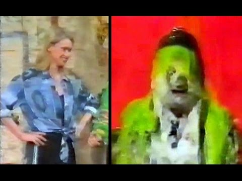 Anneka Rice foamed and gunged on Noel's House Party