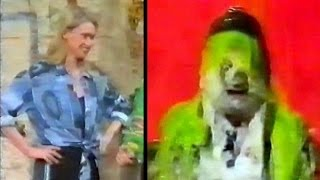 Anneka Rice foamed and gunged on Noel