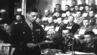 Munich No. 169: Malmedy War Crimes Trials, Dachau, Germany, 05/18/1946 (full)