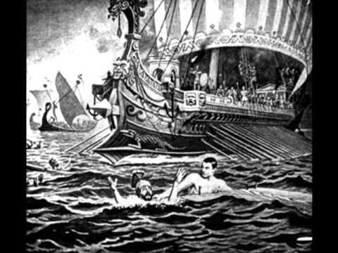 War Art 20: Battle of Salamis - YouTube