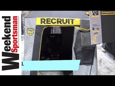Frabill Recruit 1250 Insulated Premium One Man Ice Fishing Shelter   #Frabill_Inc