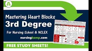 What is 3rd degree Heart Blocks Nursing KAMP