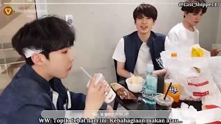 [INDO SUB] Hoshi's Hamburger Mukbang