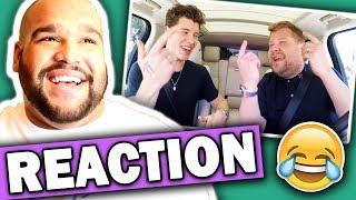 Shawn Mendes Carpool Karaoke (#LateLateShawn) REACTION