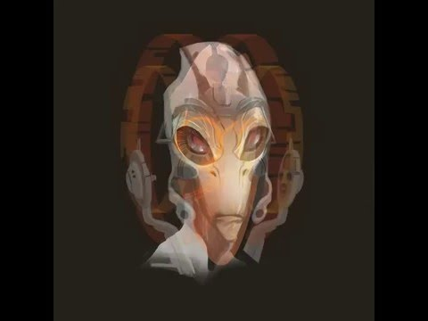 Bioware - Mordin head concepts (Mass Effect)