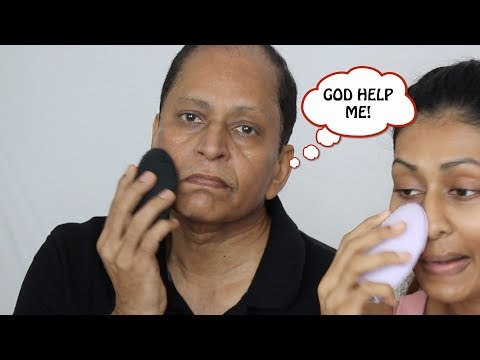 MY DAD TRIED MY SKINCARE ROUTINE AND THIS IS WHAT HAPPENED!!?? Bosslady Shruti