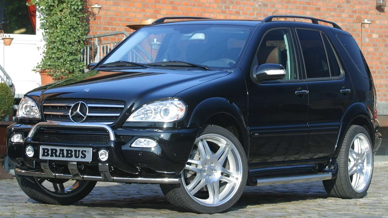 Brabus mercedes benz m class 2003 youtube for 2003 mercedes benz ml320