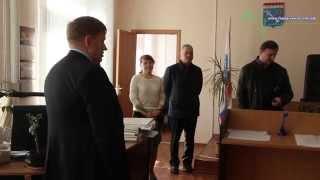 глава Кингисеппского района А. И. Сергеев посетил судебные участки мировых судей