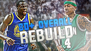 EVERY PLAYER HAS TO BE ABOVE 80 OVERALL CHALLENGE!! NBA 2K17 MY LEAGUE!
