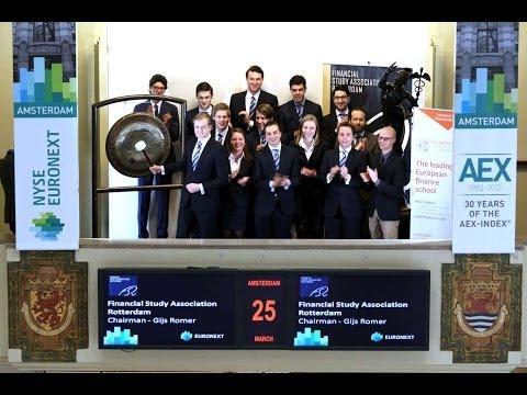 Financiële Studievereniging Rotterdam en Duisenberg School of Finance luiden de gong