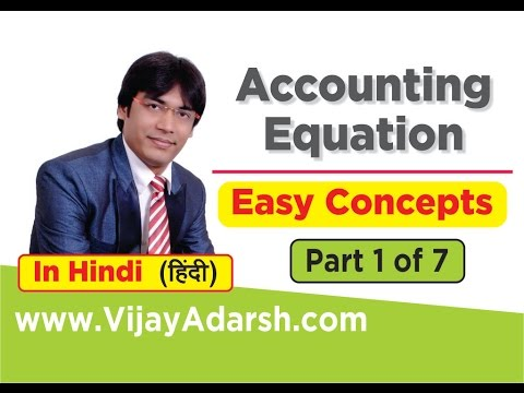 Accounting Equation Made Easy – 1 of 7 | StayLearning |CBSE Class 11 (HINDI | हिंदी)