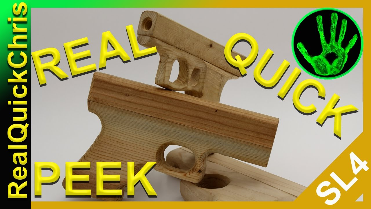 are you making this wooden toy gun? wooden handgun diy toys