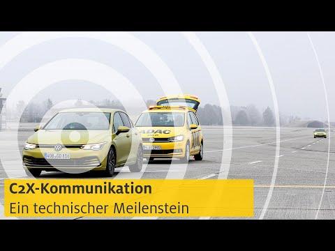 Car2X-Kommunikation: Ein technischer Meilenstein   ADAC