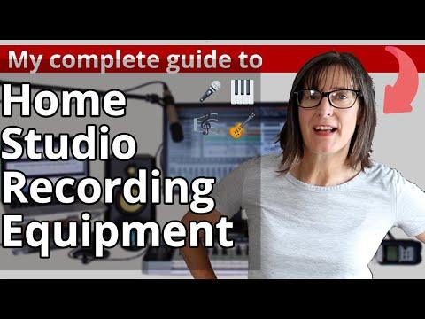 Home Studio Recording Equipment: Home Music Studio Essentials