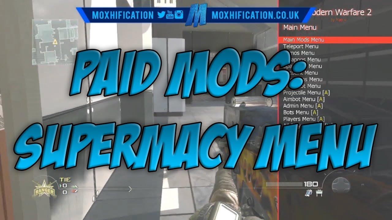 Paid Mods: MatrixMods - (MW2) All Client Mod/Azza Menu
