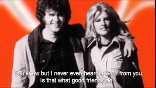 The Poppy Family - Good Friends (with lyrics)