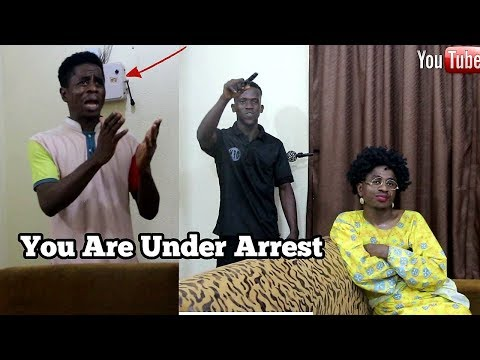 Arrest In An African Home | Mc Shem Comedian