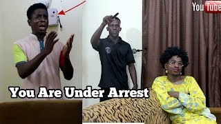 Arrest In An Afrian Home | MC SHEM COMEDIAN | African Comedy