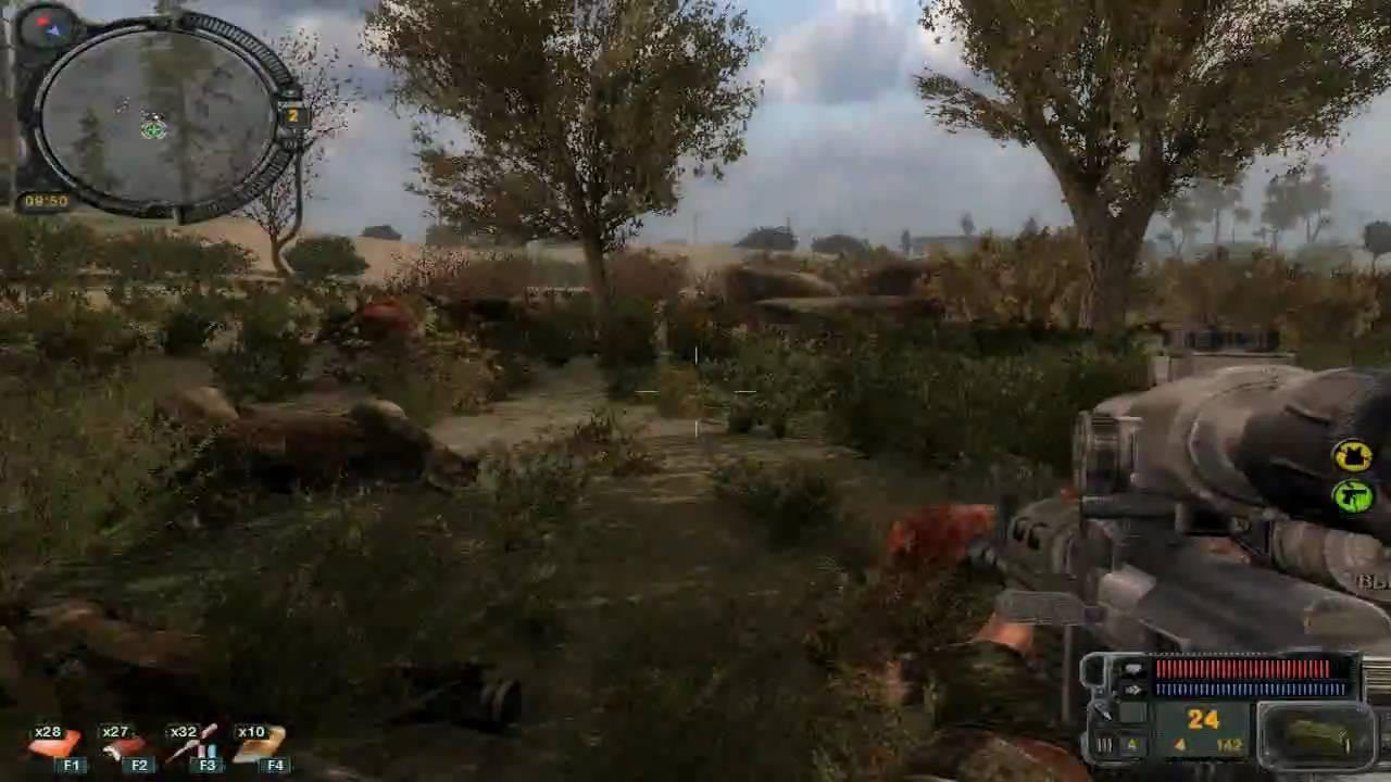 Stalker call of pripyat walkthrough part 1