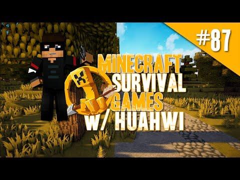 Minecraft Hunger Games w/ Huahwi #87 - 3 Game Marathon?!
