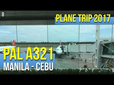 Philippine Airlines A321 PR2859 Manila to Cebu (042017)