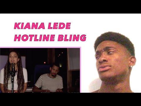 Hotline Bling x Drake SoulFoodTuesday x Kiana cover ALAZON EPI 129 REACTION