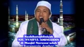 KH Saiful Bahri Aminullah Ajung Kalisat Ceramah Bahasa Madura