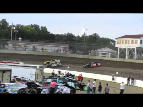 I 55 Raceway A Mod Heat Race #1 Dave Armstrong #34