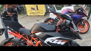 KTM Stunt Show 2016 Jalandhar | Awesome Stunts | KTM Duke 200 | KTM RC 200 | Must Watch.