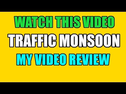 Traffic Monsoon Review Video Traffic Monsoon How To Make Easy Money Online