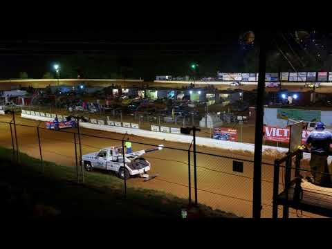4cyl main at Laurens Speedway 6/9/18