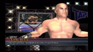 Ken Shamrock vs. Tito Ortiz UFC Sudden Impact PS2