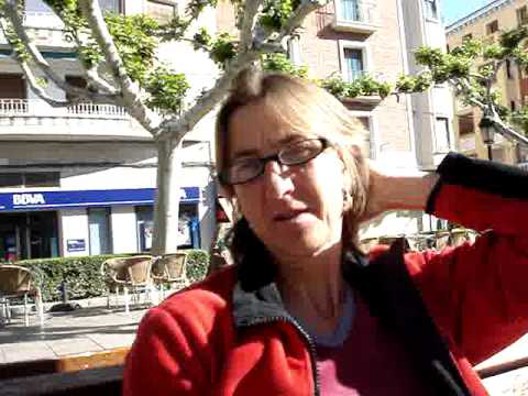 Fietstocht (Tour on bike) Malaga naar Pau (Biarritz), stop in Calatayud (Spain)