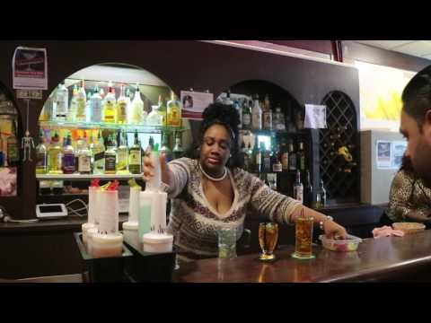 Newark's famous bartending school.