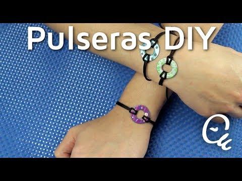 a9acaf383905 Estas sencillas pulseras ¡te encantarán!   Manualidades