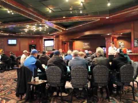 Poker enthusiasts play for keeps at the Yellowhead Casino