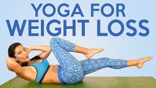 Sanela's Yoga for Weight Loss & Flexibility! 20 Minute Beginners to Intermediate Workout