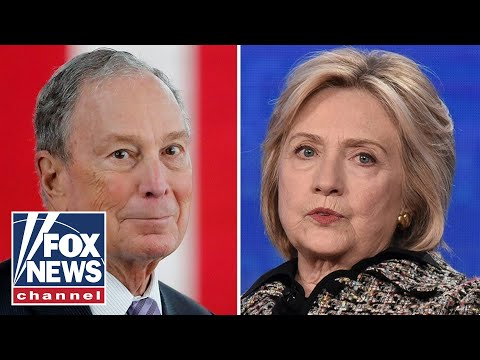 Hillary Clinton shuts down rumors she could be Bloomberg's running mate