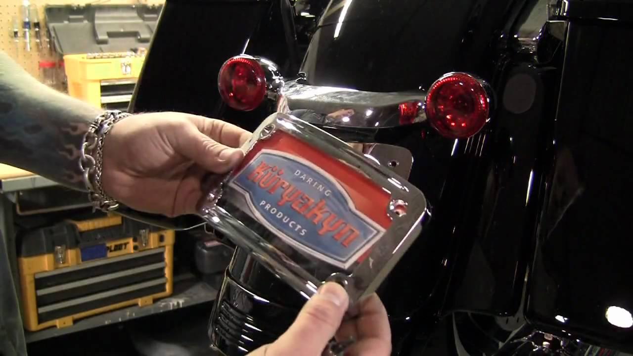 Kuryakyn Garage Harley Davidson Street Glide Curved