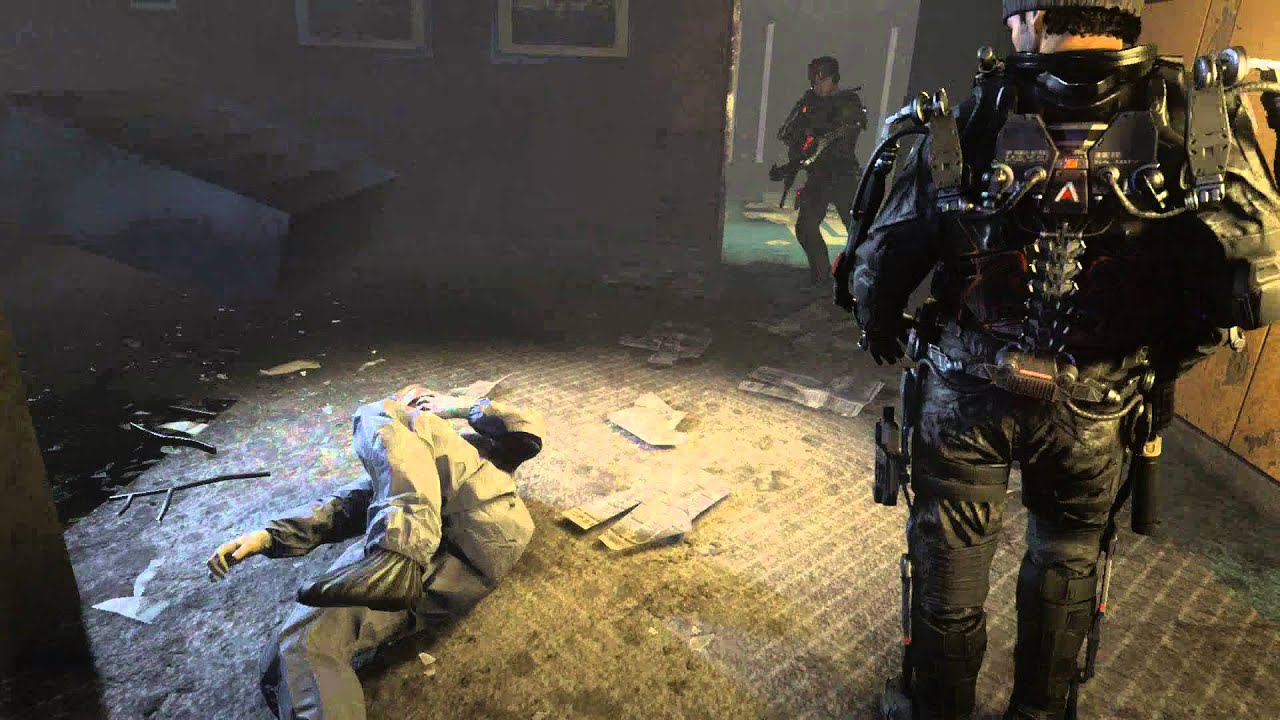 Call of Duty Advanced Warfare - Aftermath Breach Door Ambush Overcharge Punch Capture Doctor & Call of Duty: Advanced Warfare - Aftermath: Breach Door Ambush ...