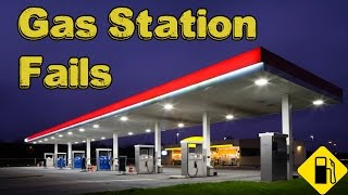 Gas Station Fails Compilation