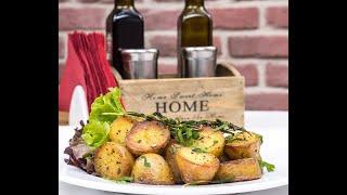 Самый вкусный картофель с розмарином в духовке. Гарнир. Как запечь картофель. Potato with rosemary.