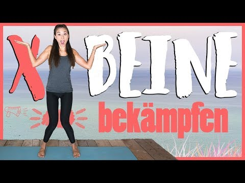 X BEINE wegtrainieren - Übungen um gerade, gesunde Beine