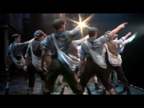 Newsies - April 12-17, 2016 at the Community Center Theater presented by Broadway Sacramento