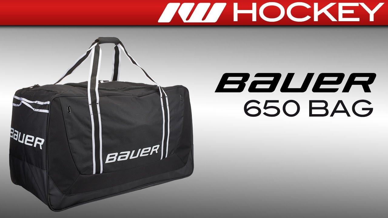 Bauer 650 Hockey Bag Review