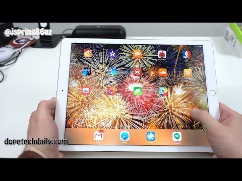 Apple iPad Pro vs Samsung Galaxy Note Pro 12.2