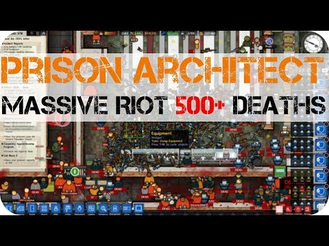 A BLOODY ESCAPE!!! Prison Architect
